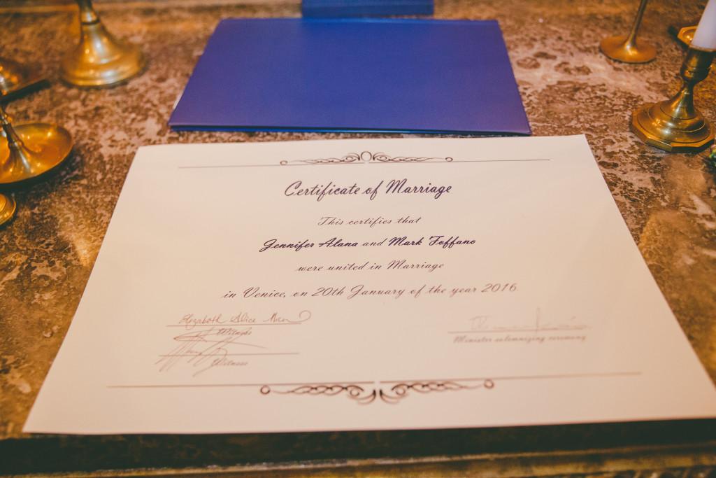 Certificato Matrimonio Simbolico : Matrimonio simbolico venezia